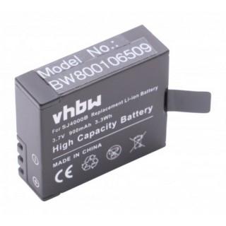 Baterija SJ4000 / SupTig3 za Qumox Actioncam SJ4000 / SJ5000 / SJ6000, 900 mAh