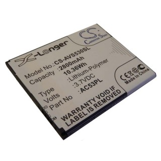 Baterija za Archos 53 Platinum, 2800 mAh