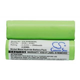 Baterija za Braun 4510 / Philips Norelco 7610X, 2000 mAh
