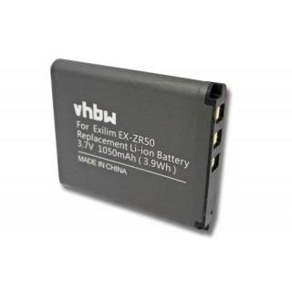Baterija NP-160 za Casio Exilim EX-ZR50, 1050 mAh