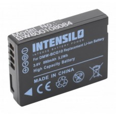 Baterija DMW-BCG10E za Panasonic Lumix DMC-TZ6 / DMC-ZS1, 890 mAh
