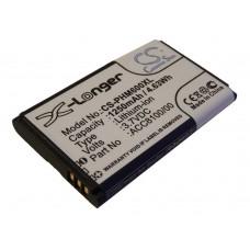 Baterija za Pocket Memo DPM6000 / DPM7000 / DPM8000, 1250 mAh