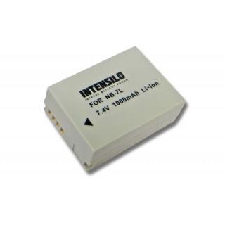 Baterija NB-7L za Canon PowerShot G10 / G11 / G12 / Powershot SX30, 1000 mAh