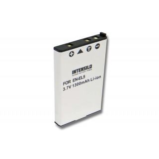 Baterija EN-EL5 za Nikon Coolpix 3700 / 4200 / 5200, 1300 mAh