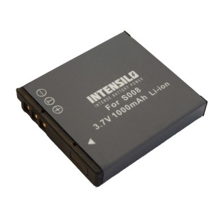 Baterija CGA-S008 za Panasonic Lumix DMC-FX30 / DMC-FS20 / DMC-FX500, 1000 mAh
