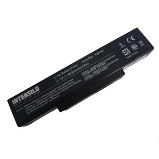 Baterija za Asus A9 / F2 / F3 / F7 / X70 / Z9, 6000 mAh