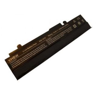 Baterija za Asus Eee PC 1011 / 1015 / 1016, črna, 2200 mAh