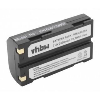 Baterija D-LI1 za Pentax EI-2000 / HP PhotoSmart 912, 2600 mAh