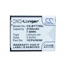 Baterija za Beurer Babyphone BY77 / 952-62, 2100 mAh