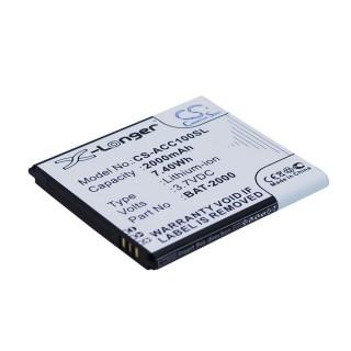 Baterija za Acer Liquid C1, 2000 mAh