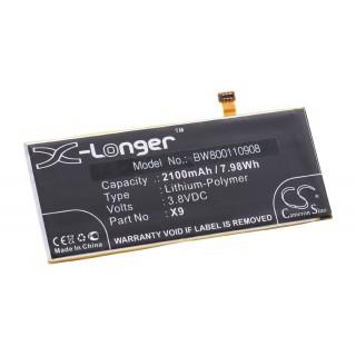 Baterija za Cubot X9, 2100 mAh