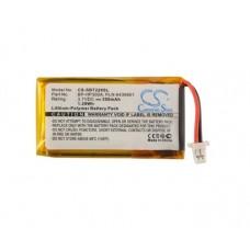 Baterija za Sony DR-BT22 / DR-BT22G, 350 mAh