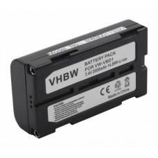 Baterija VW-VBD1 / BN-V812 za Panasonic AG-EZ1 / NV-DA1EN / PV-DV700, 2000 mAh