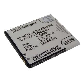 Baterija za Archos 45c Platinum, 1700 mAh