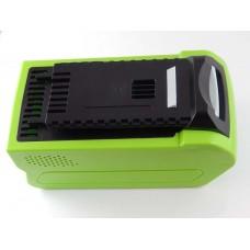 Baterija za Greenworks 24252 / 29282, 40 V, 5.0 Ah