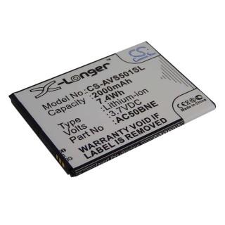 Baterija za Archos 50b Neon, 2000 mAh