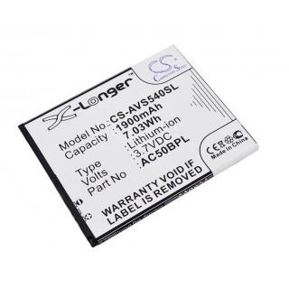 Baterija za Archos 50b Platinum, 1900 mAh