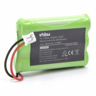 Baterija za Motorola MBP33 / MBP36 / MBP43, 800 mAh