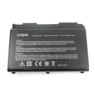Baterija za Clevo X510 / X510S, 5200 mAh