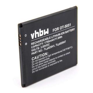 Baterija za Alcatel One Touch Pop 4 / OT-5051, 1750 mAh