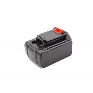 Baterija za Black & Decker LB20 / LBX20 / LBXR20, 20 V, 5.0 Ah