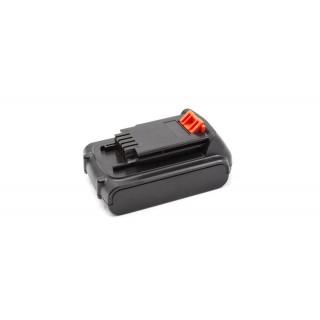 Baterija za Black & Decker LB20 / LBX20 / LBXR20, 20 V, 3.0 Ah