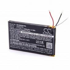 Baterija za Sony NWZ-ZX1, 1000 mAh