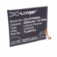 Baterija za Alcatel A5 / A50 / OT-5085D, 2800 mAh