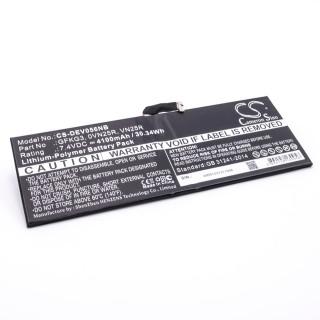 Baterija za Dell Venue 10 Pro 5056, 4100 mAh