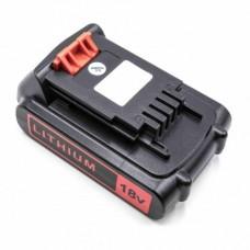 Baterija za Black & Decker BL1518 / BL2018, 18 V, 1.5 Ah