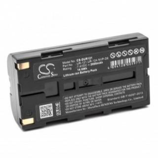 Baterija NVP-D6 / UR-121 za Sanyo iDshot IDC-1000 / Xacti NV-DV35, 2000 mAh