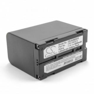 Baterija VW-VBD815 za Panasonic NV-DX100, 6000 mAh