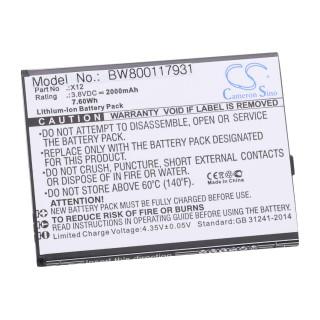 Baterija za Cubot X12, 2000 mAh