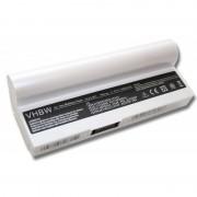 Baterija za Asus Eee PC 1000 / 1000H / 901 / 904, bela, 6600 mAh