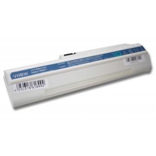 Baterija za Acer Aspire One A110 / A150 / D150 / D250, bela, 4400 mAh