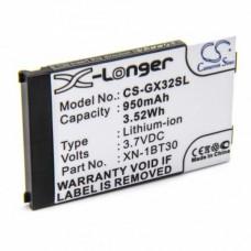 Baterija za Sharp GX15 / GX17 / GX25, 950 mAh