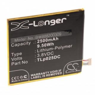 Baterija za Alcatel One Touch Pixi 4 6.0, 2500 mAh