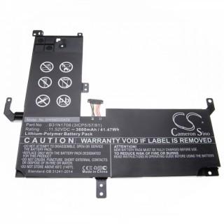 Baterija za Asus VivoBook Flip TP510, 3600 mAh