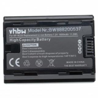 Baterija NP-W235 za Fuji FinePix XT4, 1600 mAh