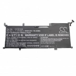 Baterija za Asus Zenbook UX305UA / UX305UAB, 4850 mAh