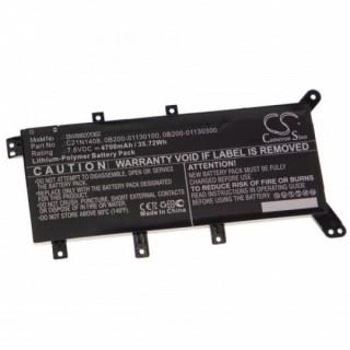 Baterija za Asus X555 / F555 / C21N1408, 4700 mAh