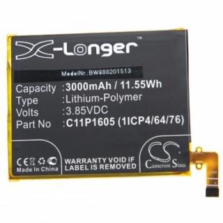Baterija za Asus ZenFone 3 Deluxe / ZS550ML, C11P1605, 3000 mAh