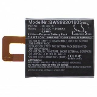 Baterija za Amazon Kindle Oasis / Oasis 2 / Oasis 3, 240 mAh
