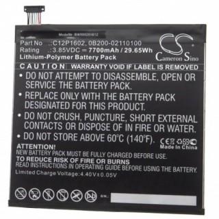 Baterija za Asus ZenPad 3S 10 / Z500KL, 7700 mAh