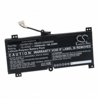 Baterija za Asus GL504GV / G515GV / G715GV / GL764GW, 4300 mAh
