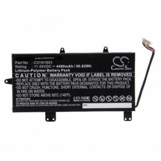 Baterija za Asus UX450FD / UX480FD / C31N1803, 11,55 V, 4400 mAh