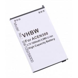 Baterija za Acer N300 / N500 / C500, 1600 mAh