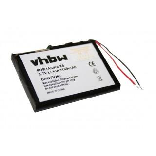 Baterija za Cowon iAudio X5 / M3 / M5, 1100 mAh
