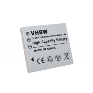 Baterija DB-L20 za Sanyo Xacti DMX-C1 / VPC-C1 / VPC-J1, 550 mAh