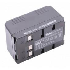 Baterija P-V211 / VW-VBH20 / VW-VBS20 za Panasonic NV-R50E / NV-R65E / NV-S58, 3600 mAh